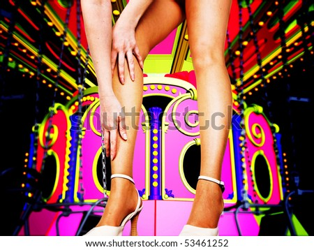 At the circus - stock photo