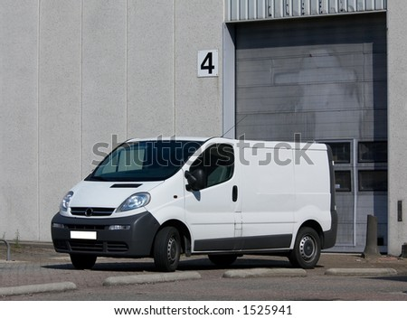 At the loading dock - stock photo