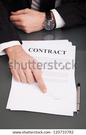 At the office - stock photo
