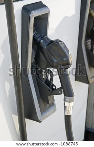 At the Pump - stock photo