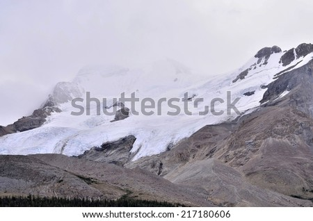 Athabasca Glacier, Icefield Parkway, Jasper National Park, Alberta, Canada