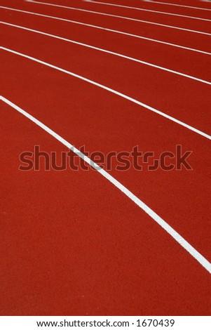Athletic race - stock photo