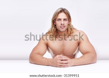 Long haired female body builder are not