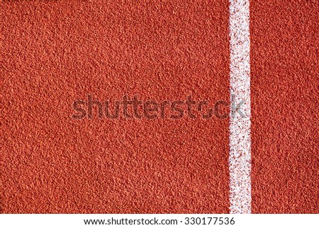 Athletics all weather running track texture - stock photo