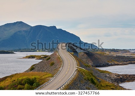 Atlantic Road, Norway, Europe