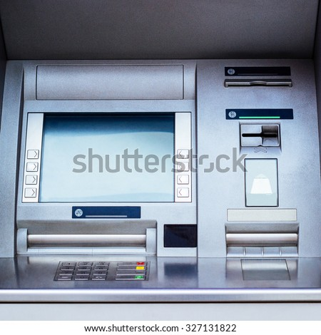 ATM cash machine - Automated Teller Machine - stock photo