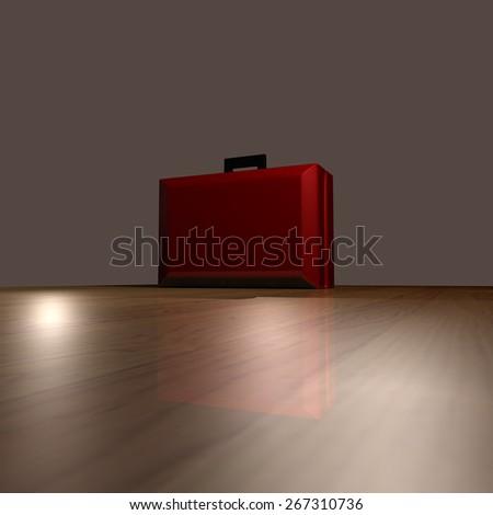 Attache Case - stock photo