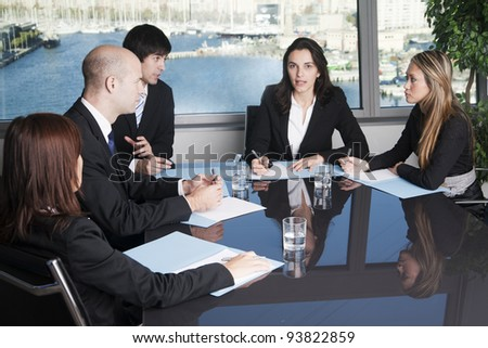 Attorneys at Law Firm - stock photo