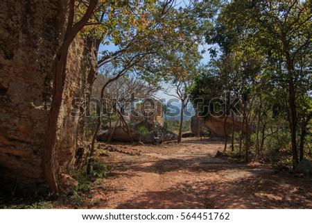 Attractions Hin Chang Si Khon Kaen, Thailand
