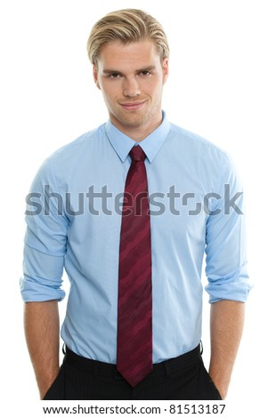 attractive businessman