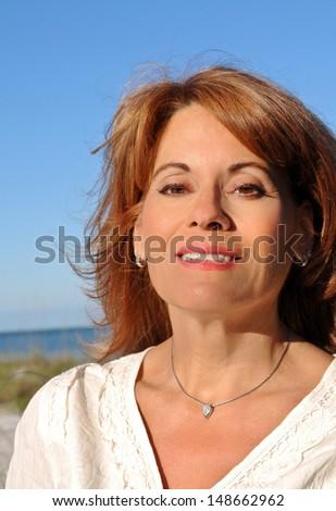 Attractive Mature Woman  - stock photo