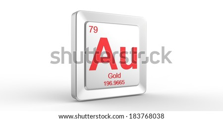 Au symbol 79 material gold chemical stock illustration 183768038 au symbol 79 material for gold chemical element of the periodic table urtaz Images