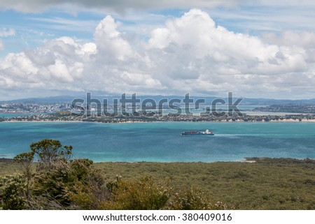 Auckland city - stock photo