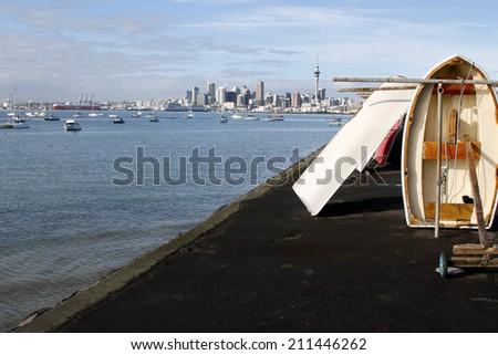 Auckland city, North Island, New Zealand - stock photo