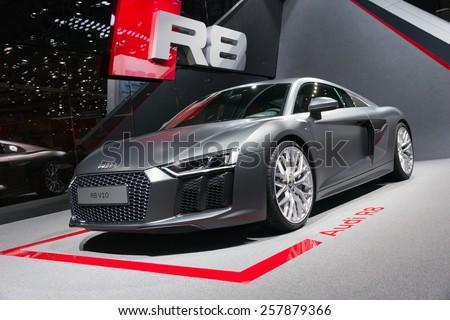 Audi R8 - stock photo
