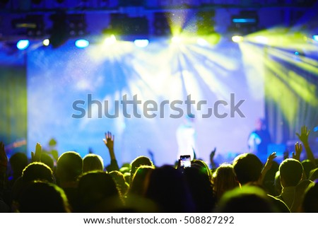 Audience at concert
