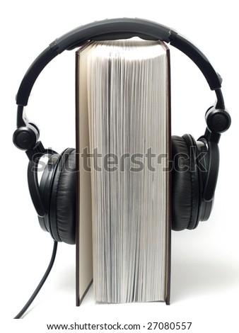 audio book - stock photo