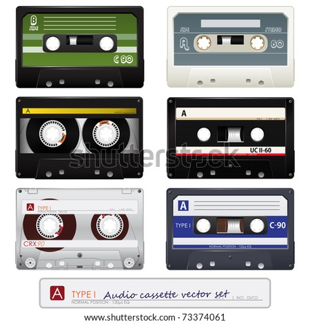 Audio cassettes set