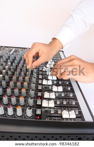 Audio mixer channels