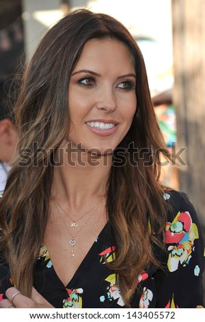 "Audrina Patridge at the world premiere of ""The Lone Ranger"" at Disney California Adventure. June 22, 2013  Anaheim, CA"