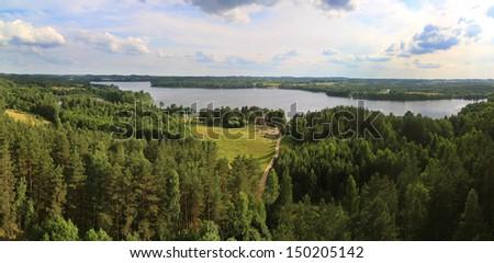 Aukstaitija National Park, Lithuania - stock photo