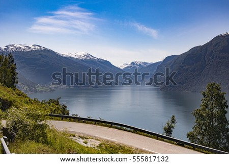 Aurland is a municipality in the county of Sogn og Fjordane, Norway. It is located on the south side of the Sognefjorden in the traditional district of Sogn.