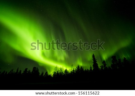 Aurora - stock photo