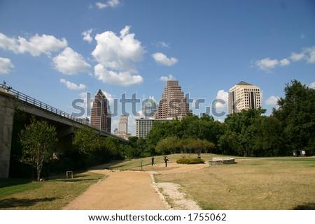 Austin skyline - stock photo