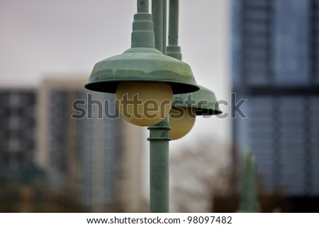 Austin, TX - March 9: SXSW Interactive Conference in Austin. Downtown Austin - stock photo