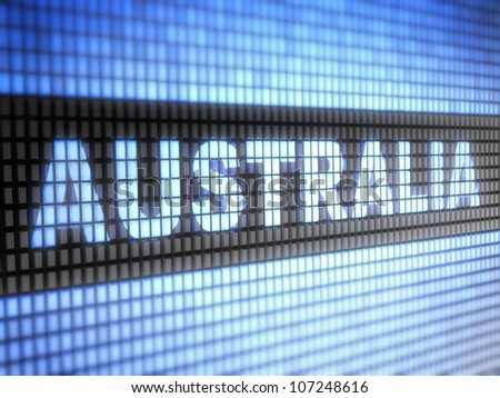 Australia.  Full collection of icons like that is in my portfolio