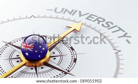 Australia High Resolution University Concept - stock photo