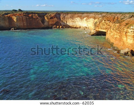 Australia tropical bay - stock photo
