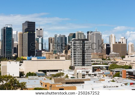 Australian city during the day (Brisbane, South Bank, QLD, Australia)