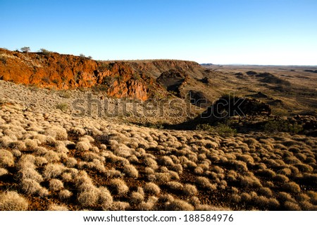 Australian Outback - Pilbara - stock photo