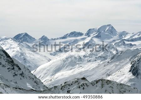 Austria alps - stock photo