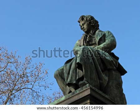 beethoven and mozart a background about Study guide and background notes  their scheme of things for an impatient genius such as mozart mozart wrote to his father from  his pupils including beethoven.