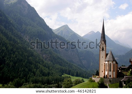 Austrian Alps - stock photo