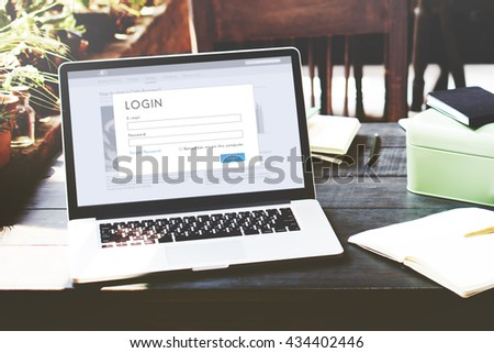 Authorize Start up Online Data Internet Concept - stock photo