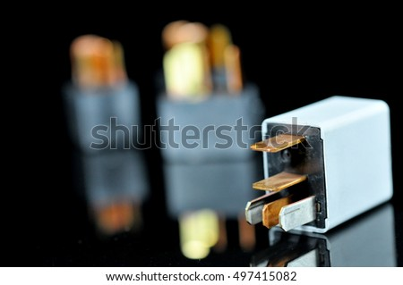 Quotrelayswitchquot Stock Images RoyaltyFree Images - Electromagnetic relay switch