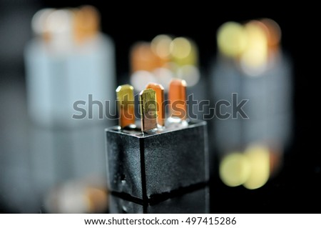 Quotrelay Switchquot Stock Photos RoyaltyFree Images - Electromagnetic relay switch