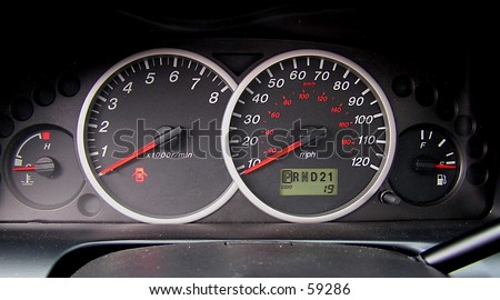 Auto Instrumentation - stock photo