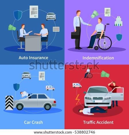 Insurance Infographics Set Health Finance Protection Stock Vector ...