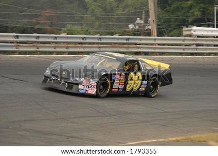 Auto racing - stock photo