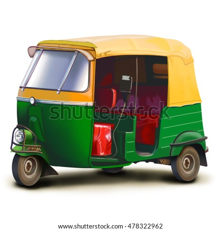 auto rickshaw stock images royalty free images vectors