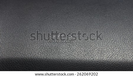 automatic airbag - stock photo