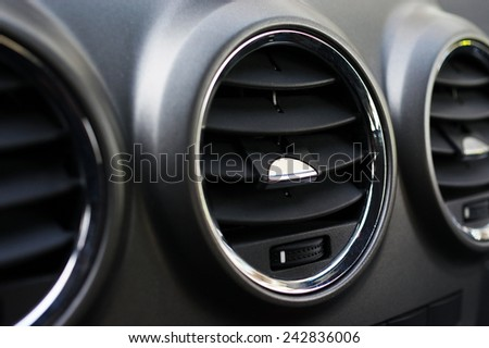 Automotive air ventilation  - stock photo