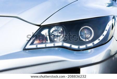 automotive eye - stock photo