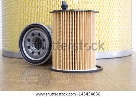 automotive filter - stock photo