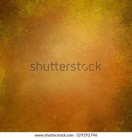Autumn background. Vintage background. Thanksgiving background. Gold orange background texture design. - stock photo