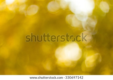 Autumn blurred background at day - stock photo